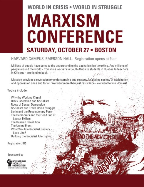 New England Marxism Conference